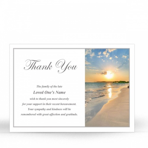 SCE05 Memorial Thank You Card
