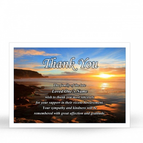 SCE15 Memorial Thank You Card