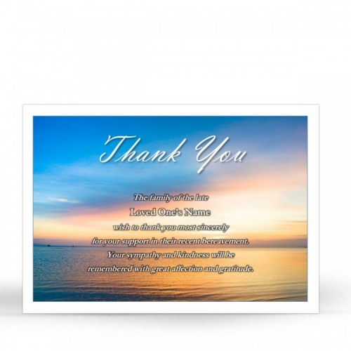 SCE35 Memorial Thank You Card