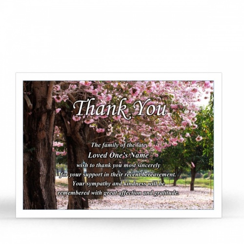 SCE37 Memorial Thank You Card