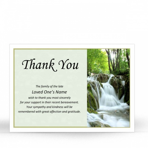 SCE43 Memorial Thank You Card
