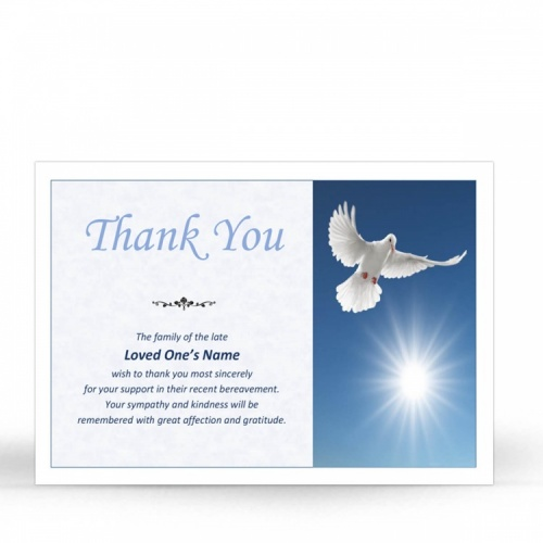 SCE60 Memorial Thank You Card