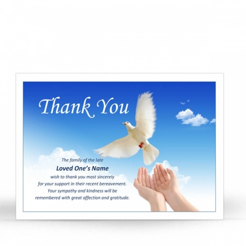 SCE61 Memorial Thank You Card