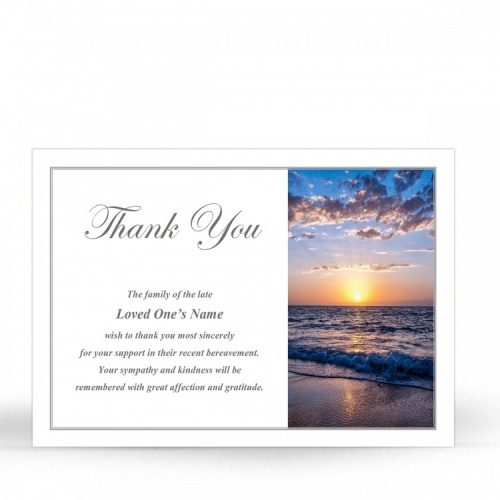 SCE94 Memorial Thank You Card