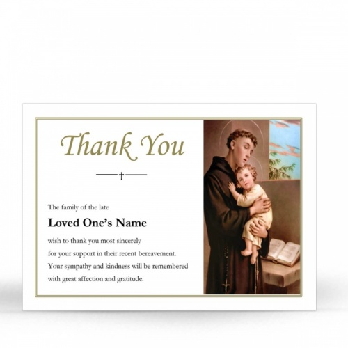 ST02 Memorial Thank You Card