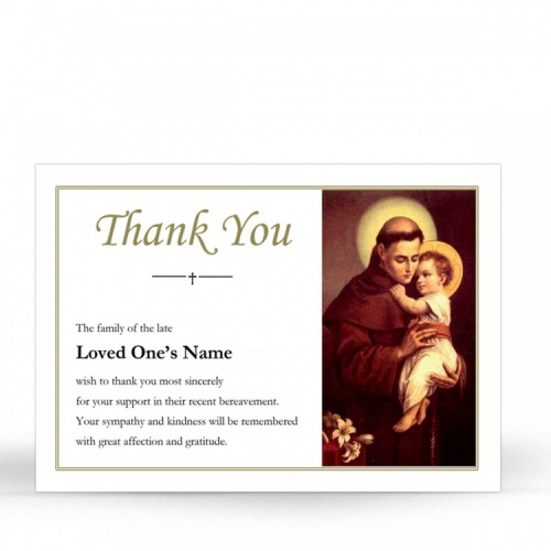 ST03 Memorial Thank You Card