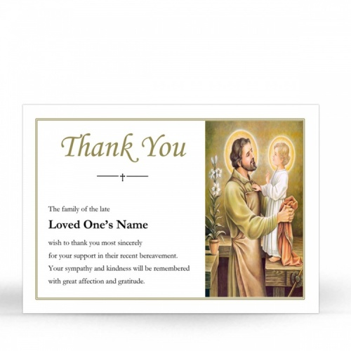 ST05 Memorial Thank You Card