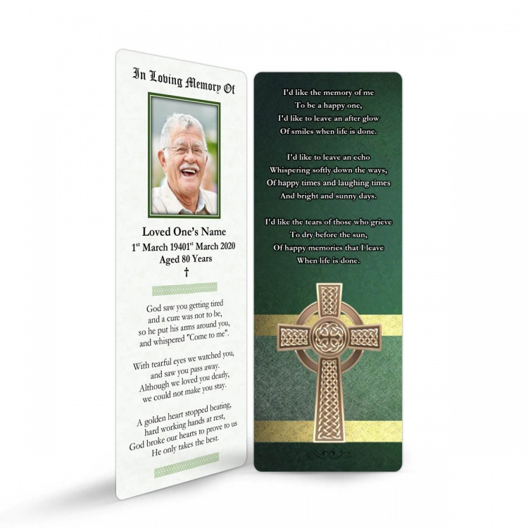 CEL05 Memorial Bookmark