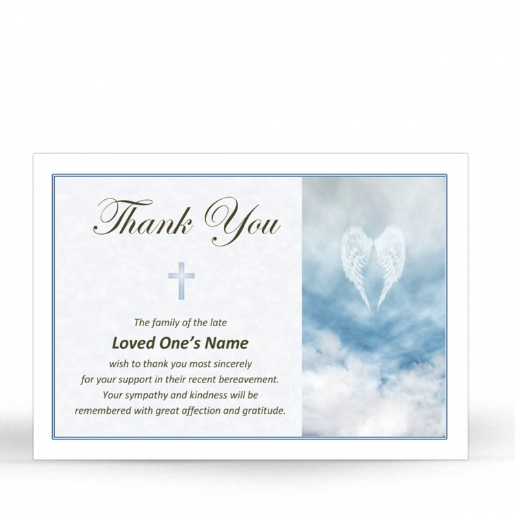 CRS05 Memorial Thank You Card