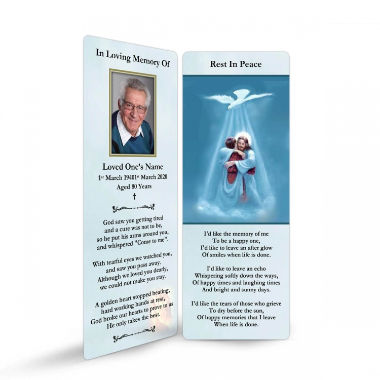 JC02 Memorial Bookmark