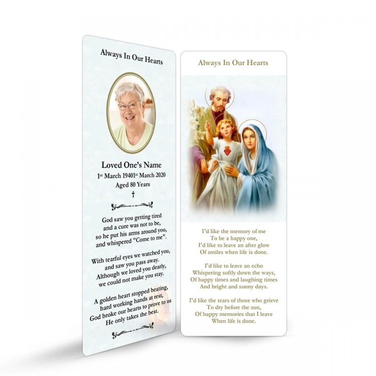REG100 Memorial Bookmark